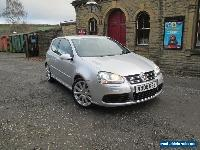 2008/08 VOLKSWAGEN GOLF 3.2 V6 R32 4MOTION [250bhp] 3DR 6 SPD MAN SILVER -LOVELY for Sale